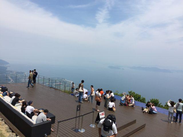 念願の「琵琶湖テラス」