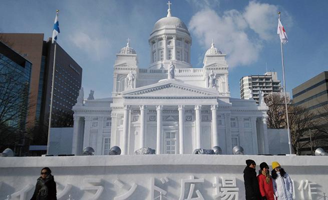 結婚記念日に札幌旅行