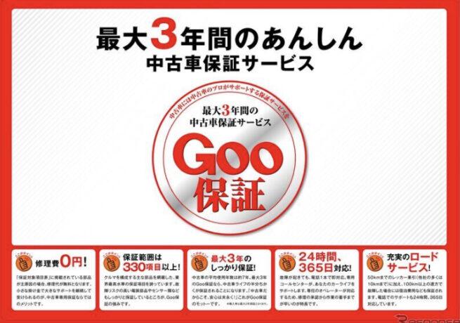 【Goo保証 加入強化中】